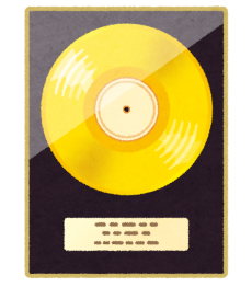 music_gold_disc